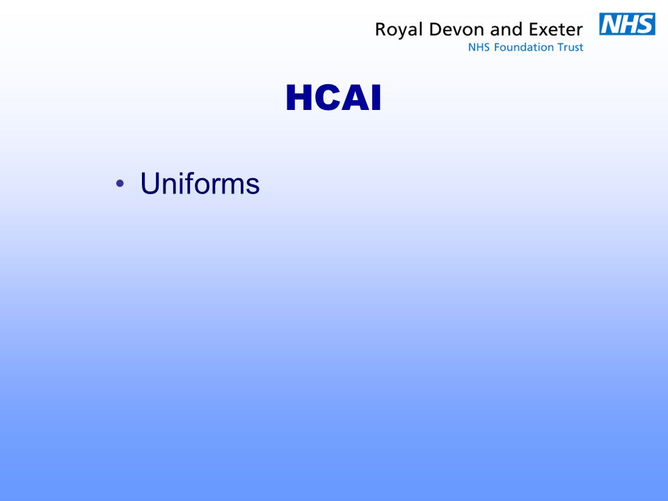 HCAI Uniforms