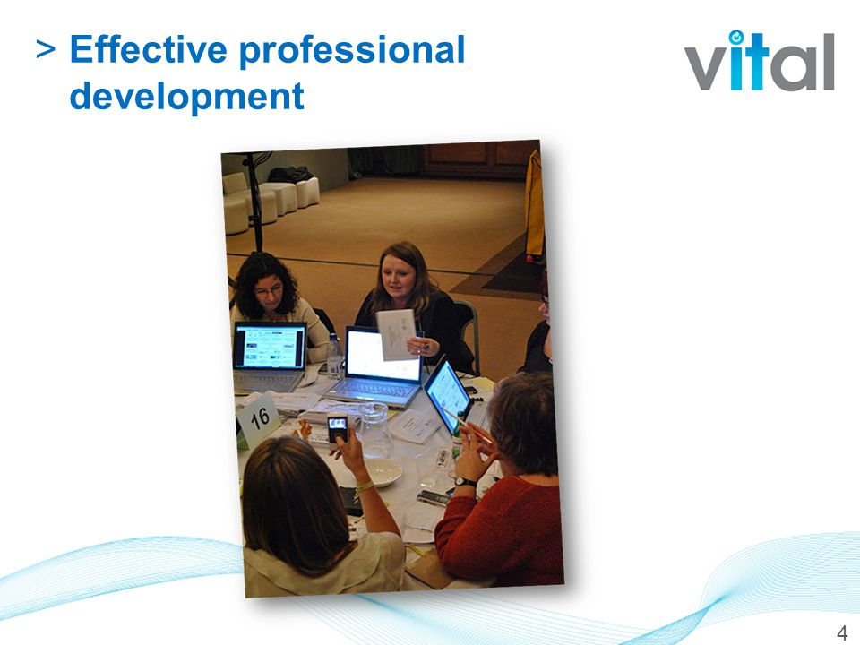 >Effective professional development 4
