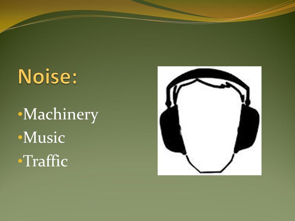 Machinery Music Traffic