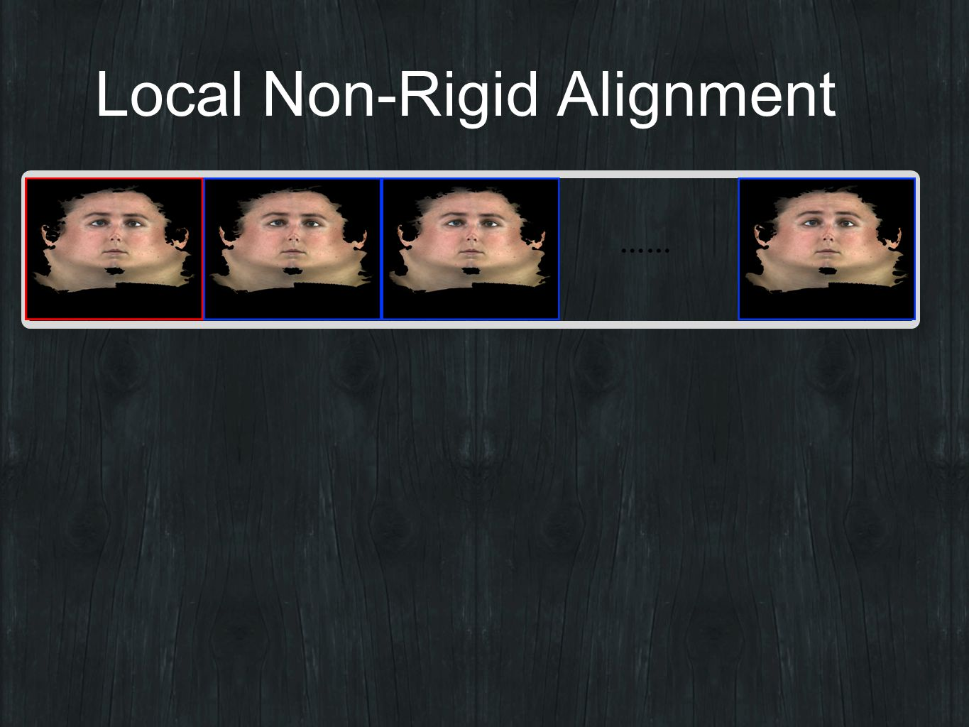 Local Non-Rigid Alignment