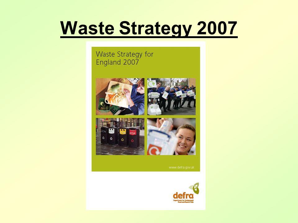 Waste Strategy 2007