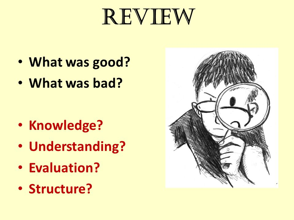What the exam board said SAMPLE U: AO1: answer contain some sound knowledge of some of the relevant events and issues with some reference to the sources.