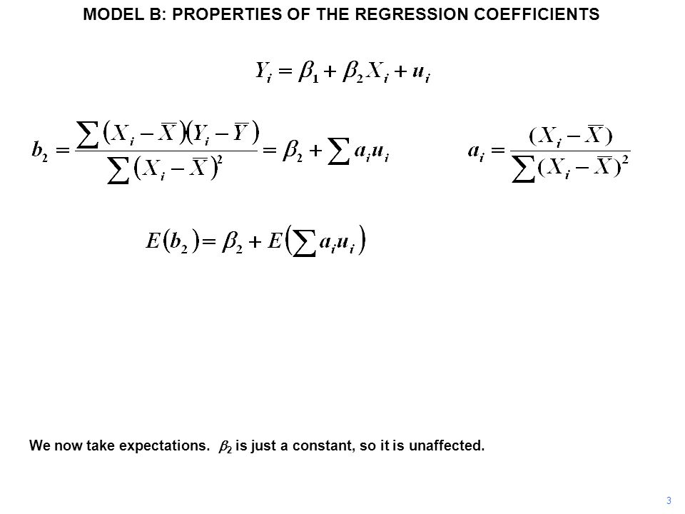 Given the regression model assumptions, it can be shown that the denominator converges on the variance of X as the sample size becomes large, using a Law of Large Numbers.