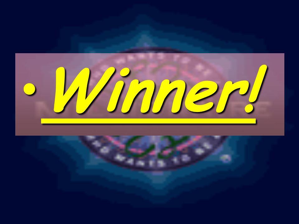 Winner!Winner!