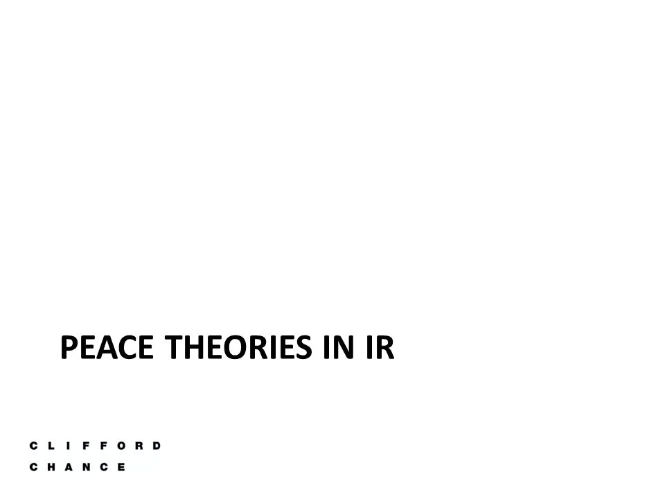 Democratic Peace Theory Democracies almost never fight with each other – lack of any real wars between real democracies in 20 th C -Normative Reasons -Structural Reasons Argue that promoting democracy has broader benefits to protecting the security of existing democratic nations (democratic crusade) 1)Other explanations; e.g.