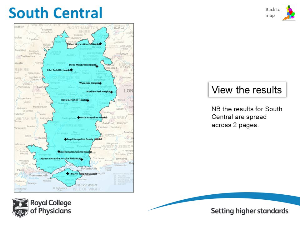 South Central Back to map View the results NB the results for South Central are spread across 2 pages.