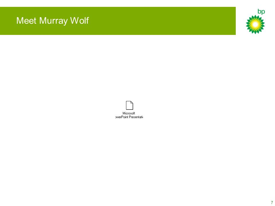 7 Meet Murray Wolf
