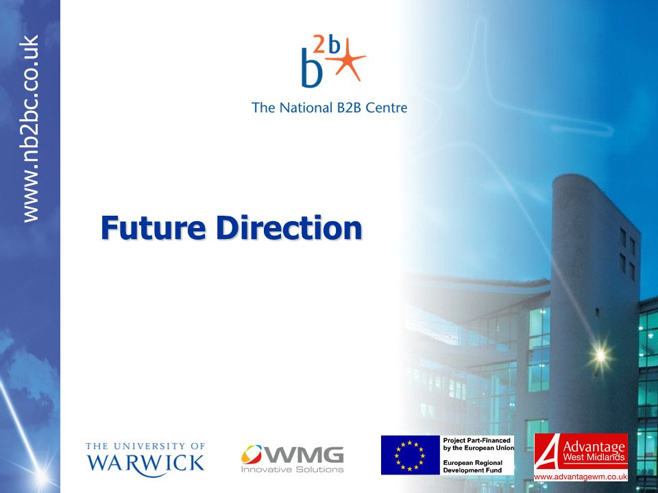 www.nb2bc.co.uk Future Direction