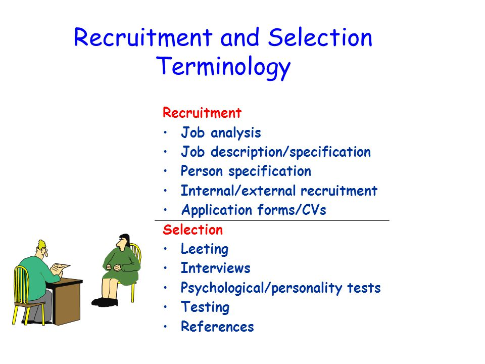 Recruitment and Selection Human Resource Management