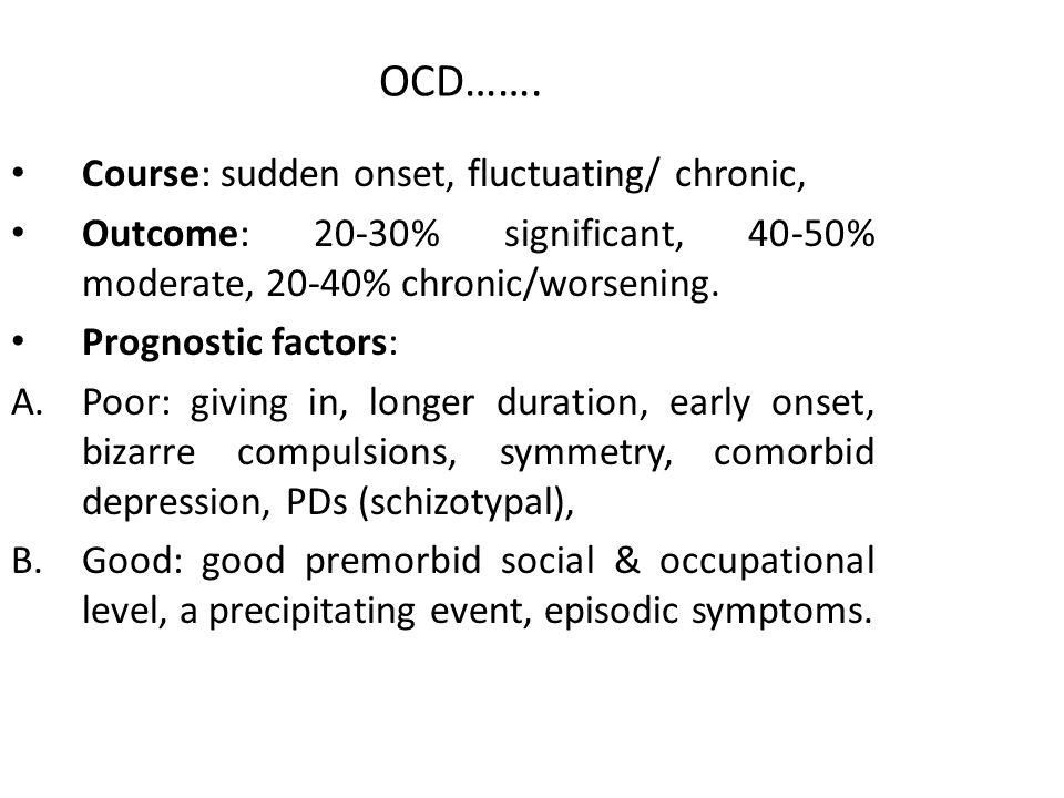 OCD…….