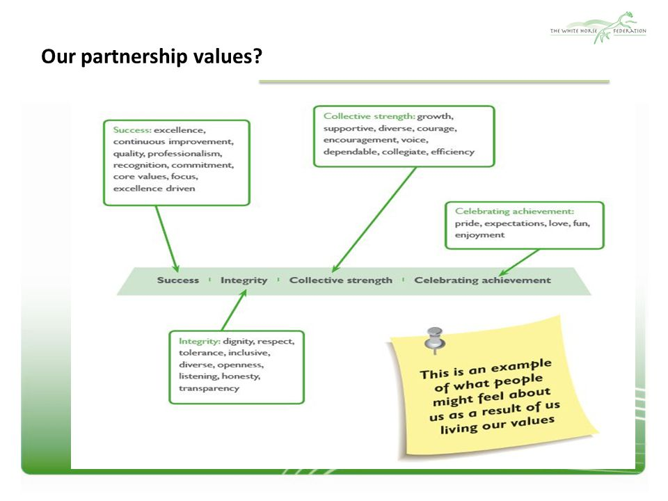 Our partnership values