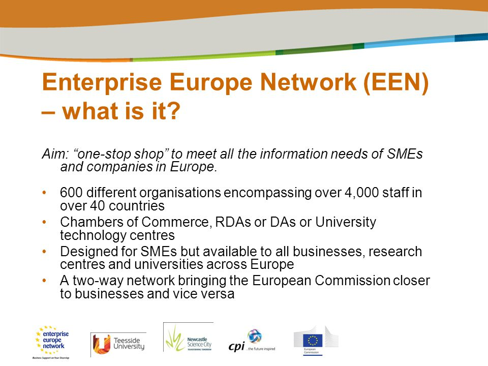Enterprise Europe Network (EEN) – what is it.