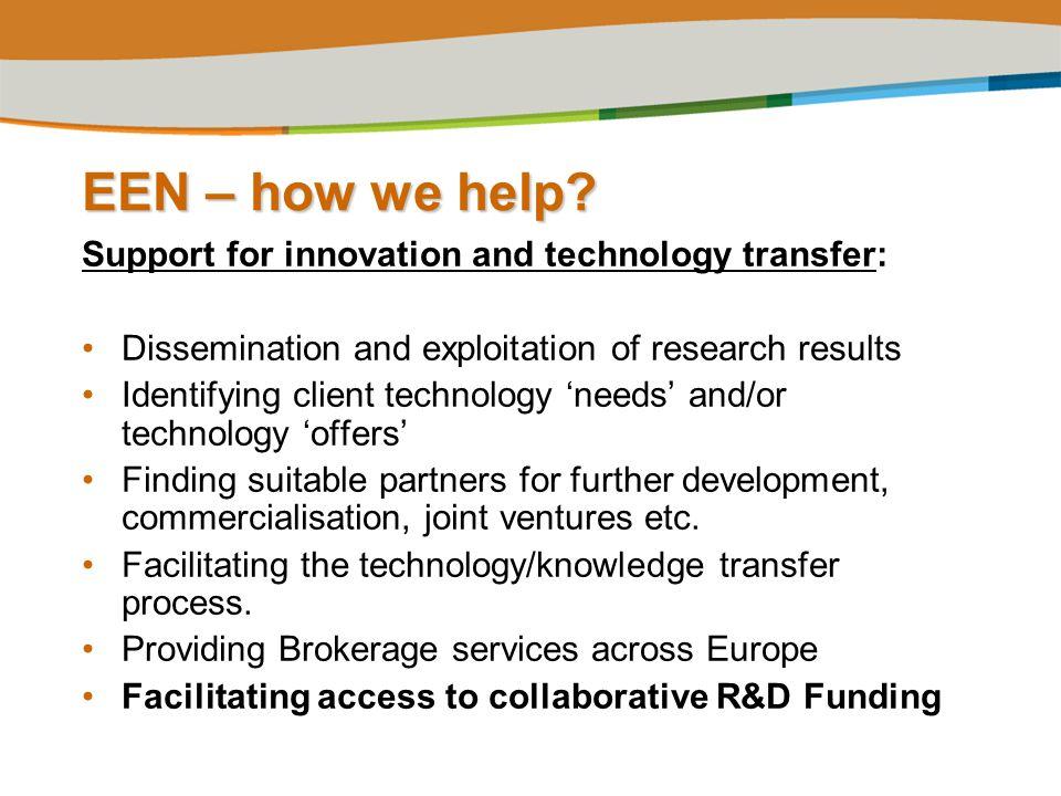 EEN – how we help.