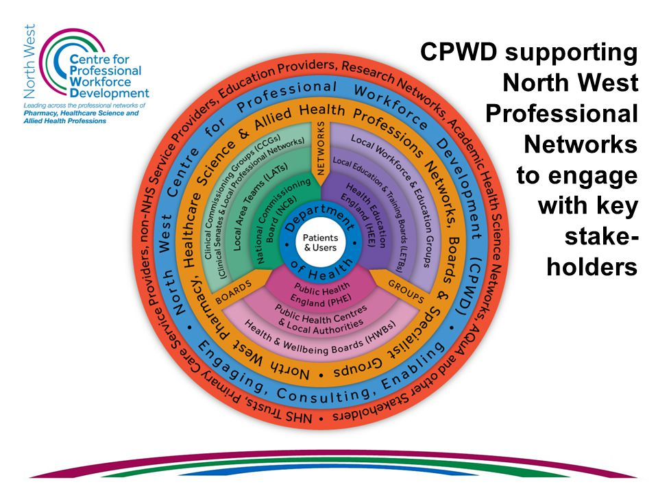 CPWD supporting North West Professional Networks to engage with key stake- holders