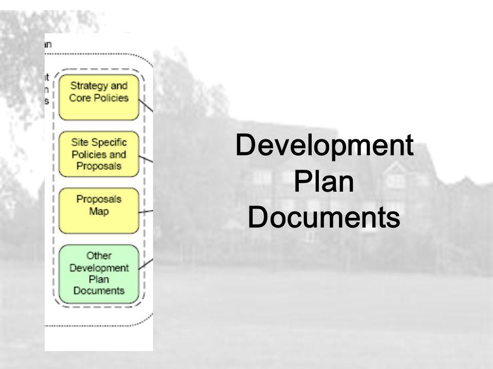 Development Plan Documents
