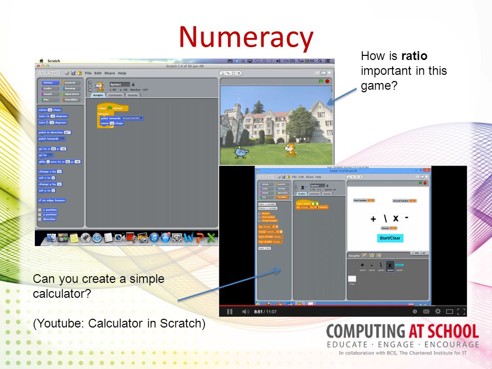 Numeracy How is ratio important in this game. Can you create a simple calculator.