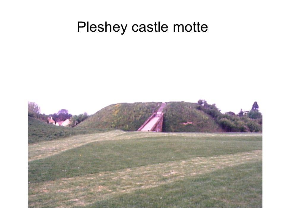 Pleshey castle motte