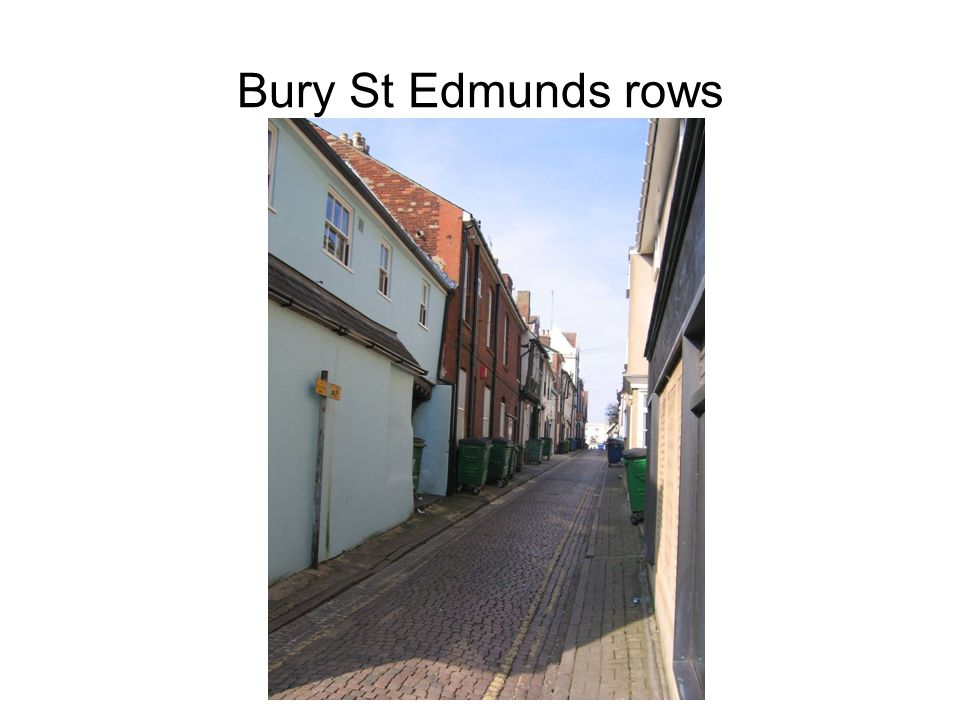 Bury St Edmunds rows