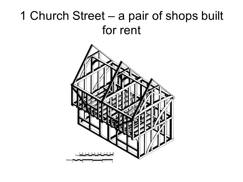 1 Church Street – a pair of shops built for rent