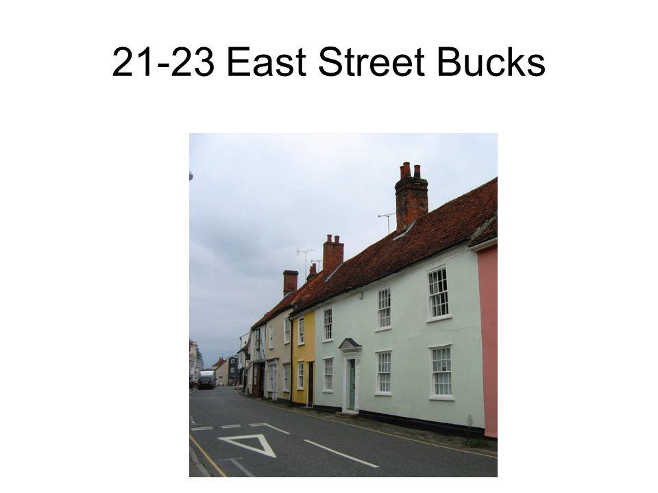 21-23 East Street Bucks