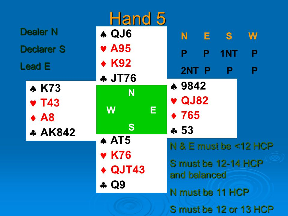 Partner has opened 1 NT  This is your hand  You have 20 HCP  And a balanced hand  Game is certain  Slam may be on  If partner has 14 HCP  Bid 4NT  Partner Passes with 12  Bids 6NT with 14  Guesses with 13 QQ 88 QQ JJ 33 A AA JJ K 3 77 KK 33