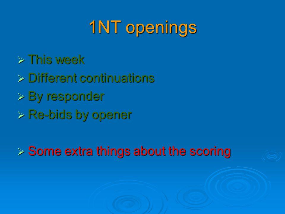 You have opened 1NT  Partner has bid 4  Partner has bid 4   What is your next bid.
