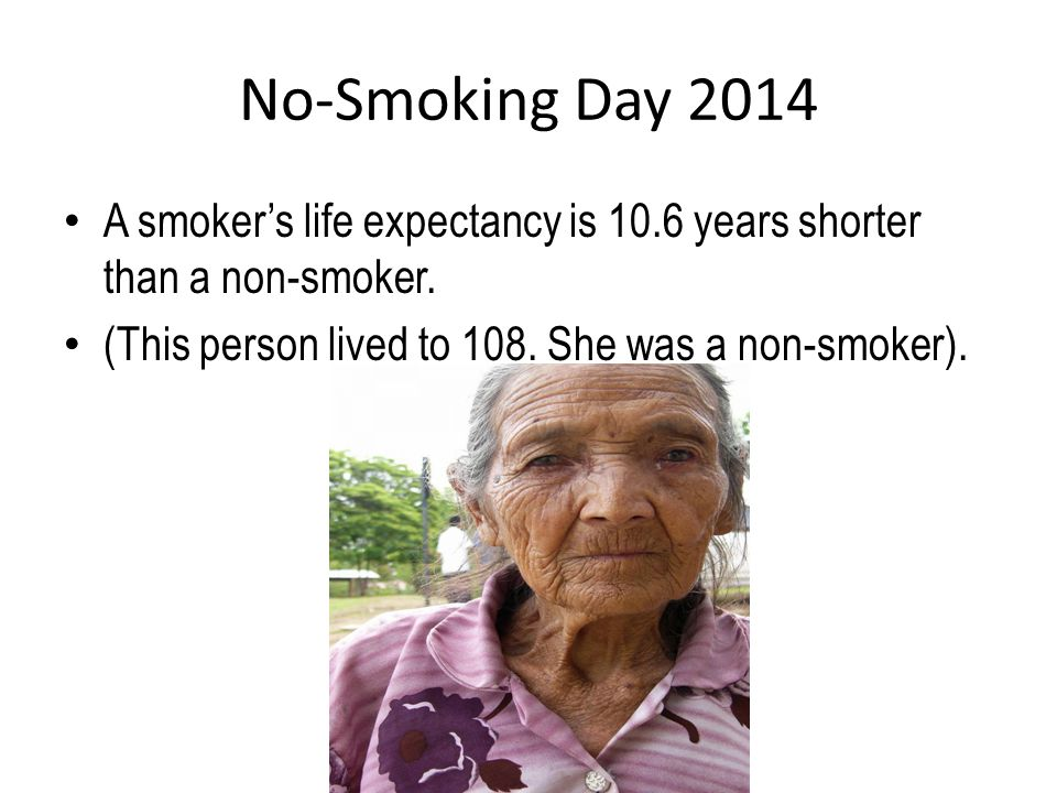 No-Smoking Day 2014 Diseases/problems associated with smoking.