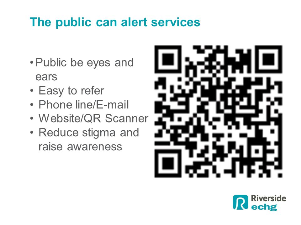 The public can alert services