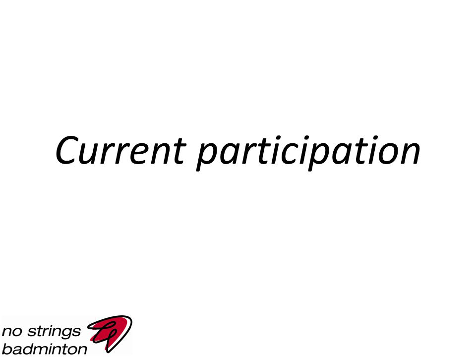 Current participation