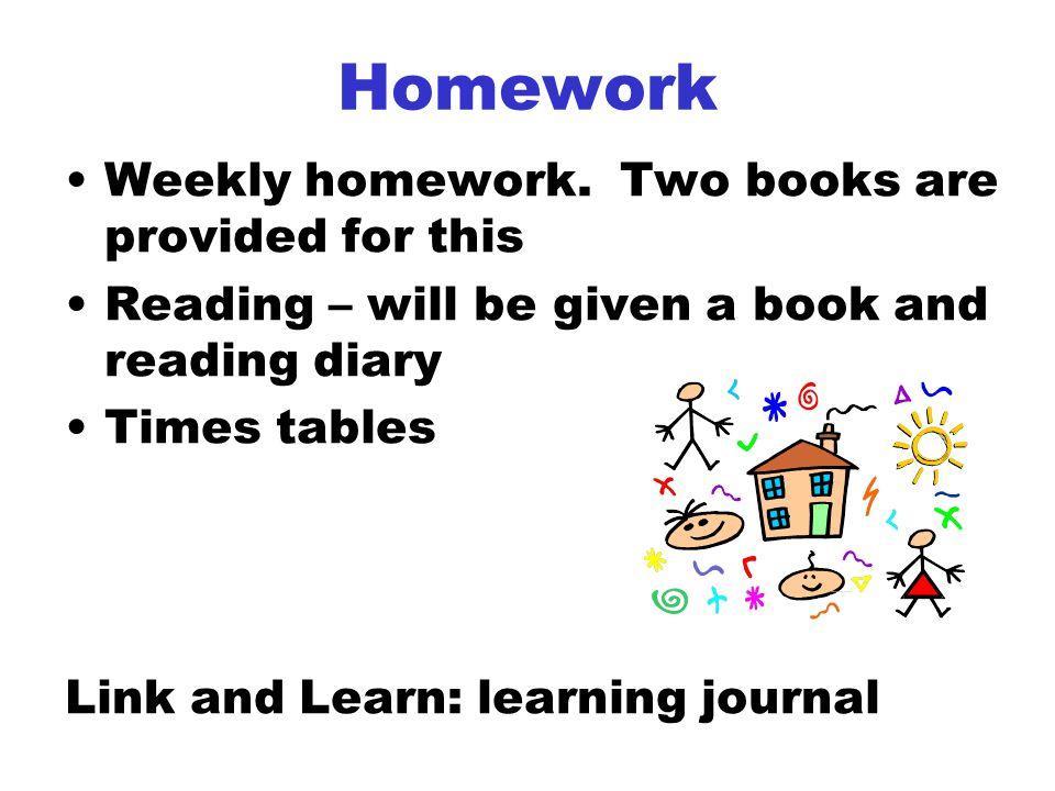 Homework Weekly homework.