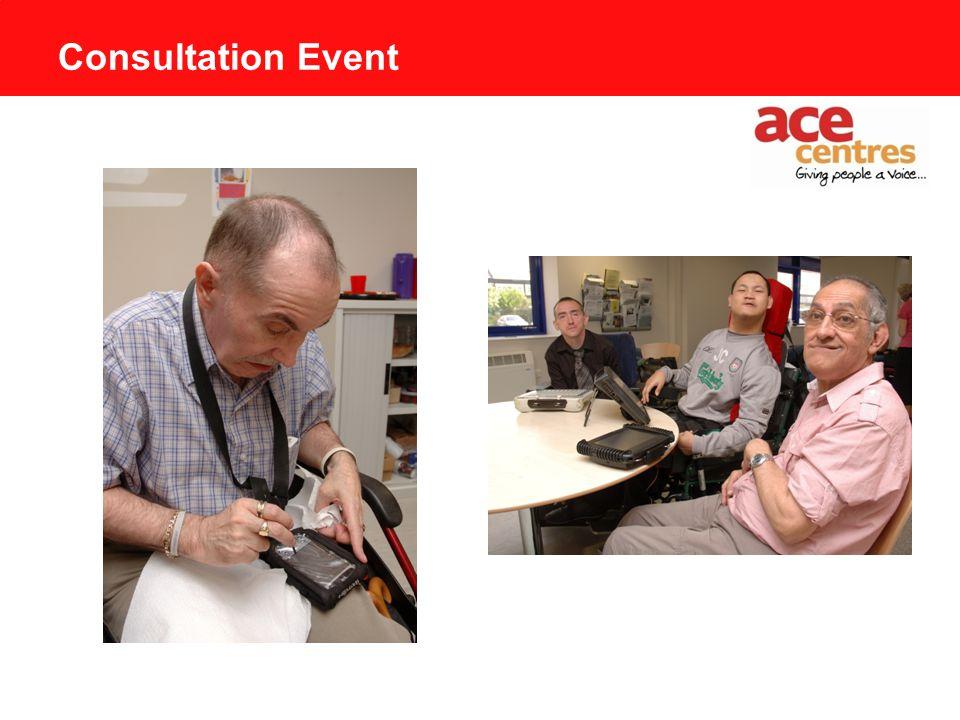 Consultation Event