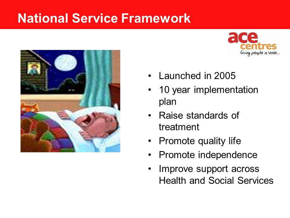 NS Wa National Service Framework