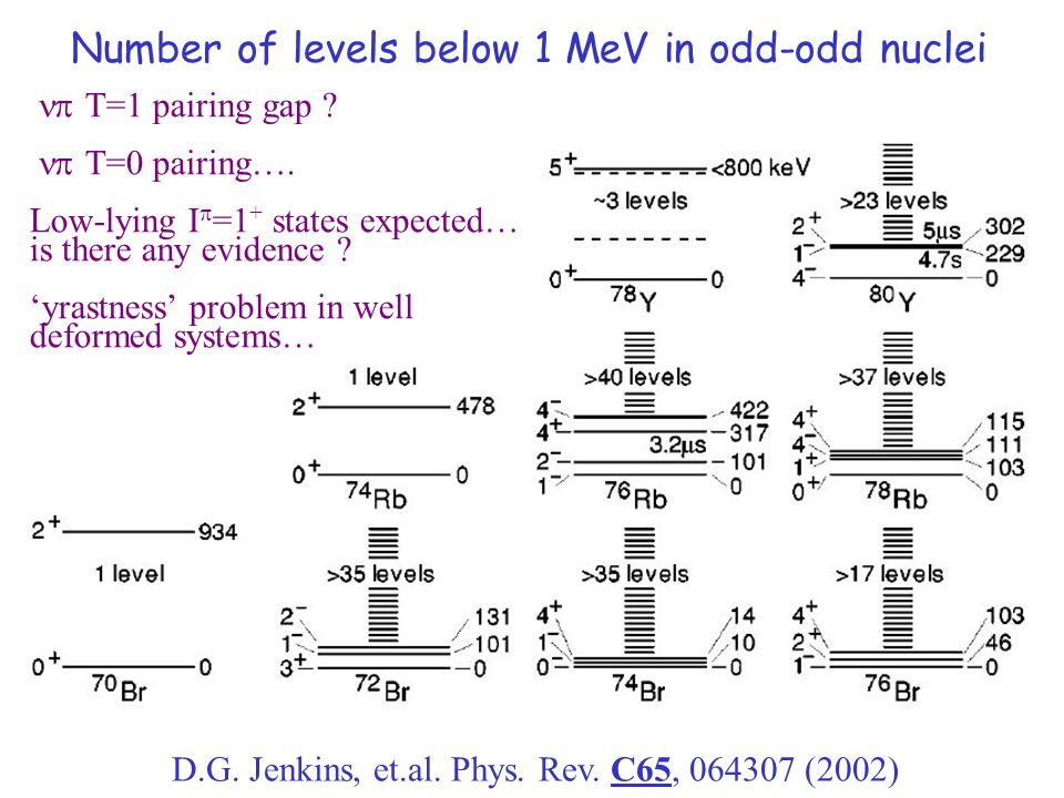 Number of levels below 1 MeV in odd-odd nuclei D.G.