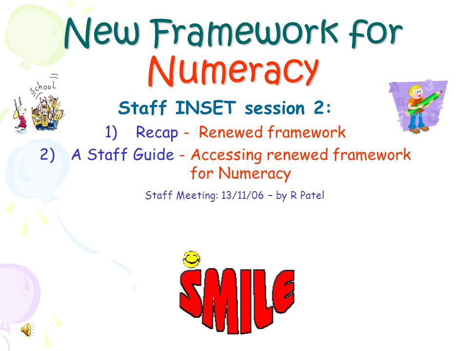 Aims of the INSET… By the end of the session… We can understand the structure of the renewed framework and identify the major changes involved.