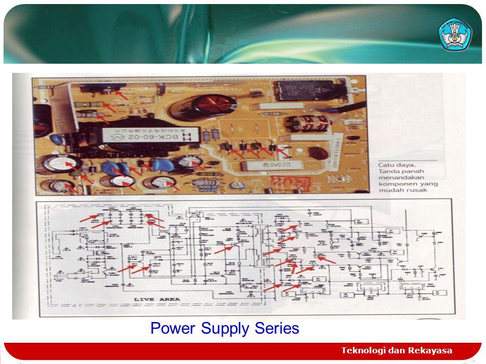 Teknologi dan Rekayasa Power Supply Series