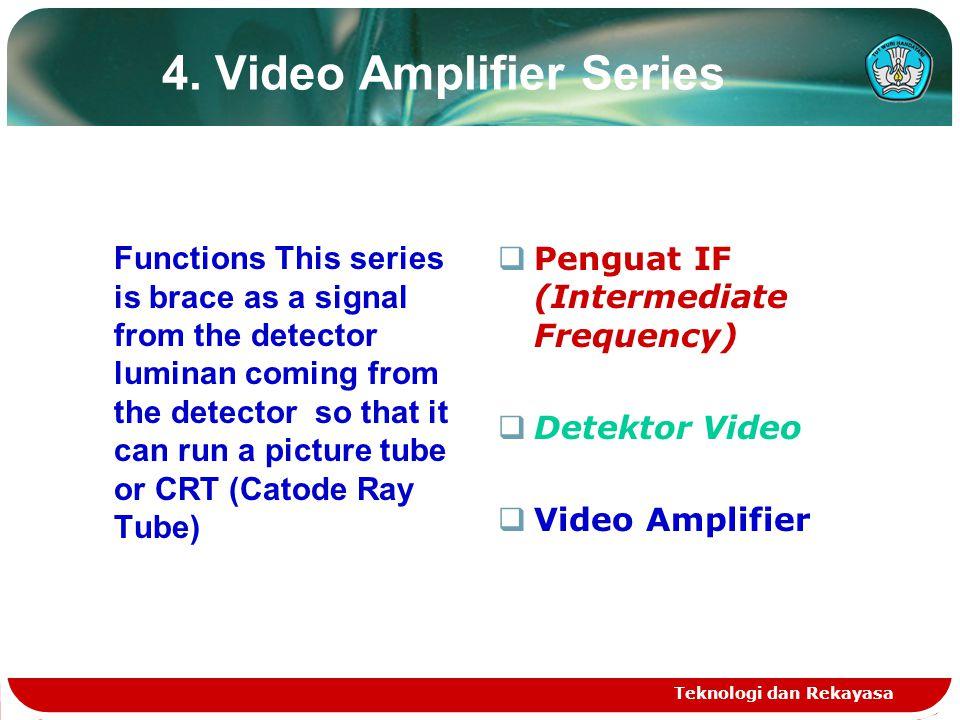 Teknologi dan Rekayasa 5.Stabilizator Receiver TV Wave Series.