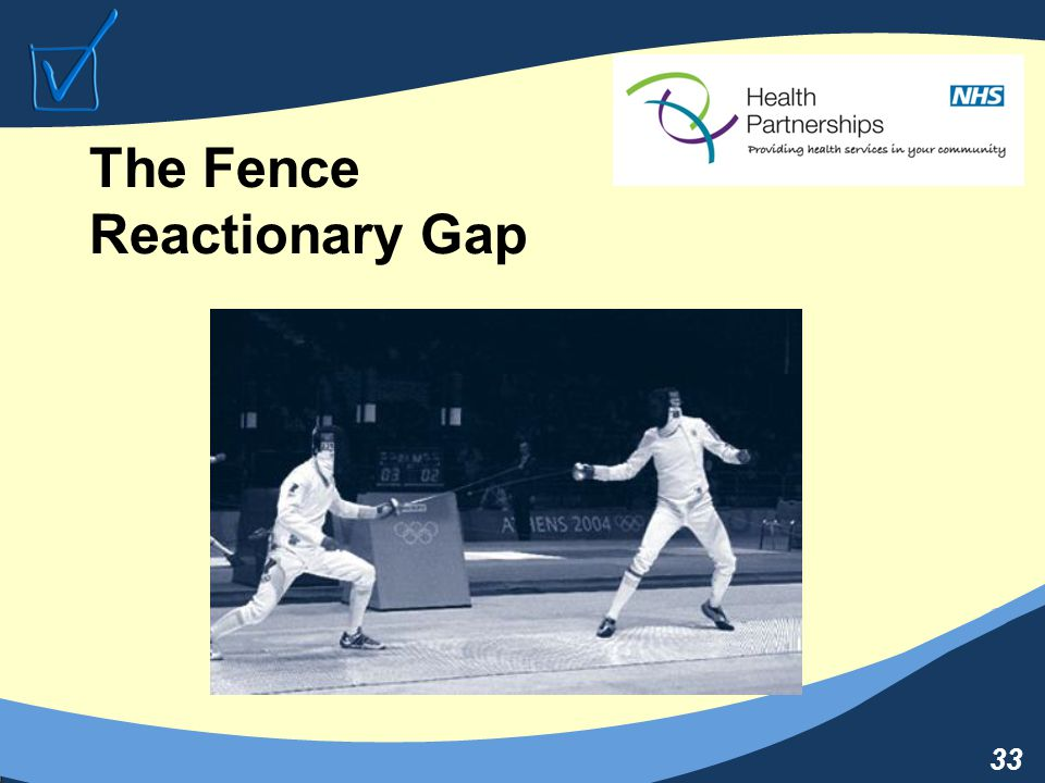 33 The Fence Reactionary Gap