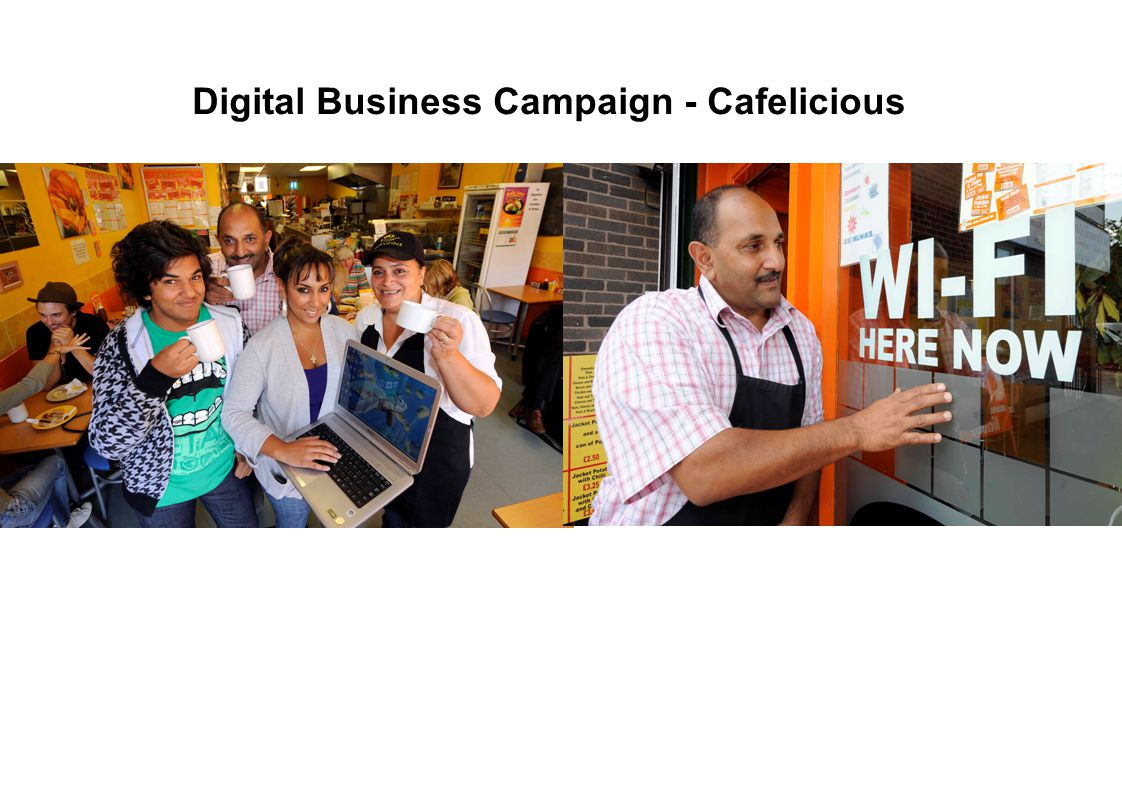 Digital Business Campaign - Cafelicious