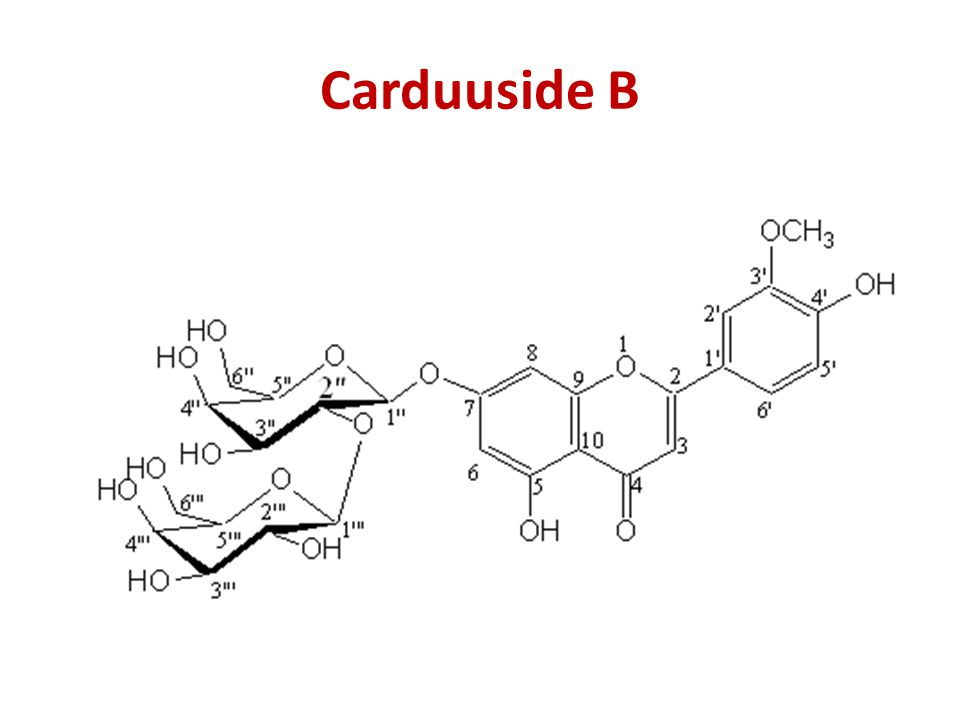 Carduuside B