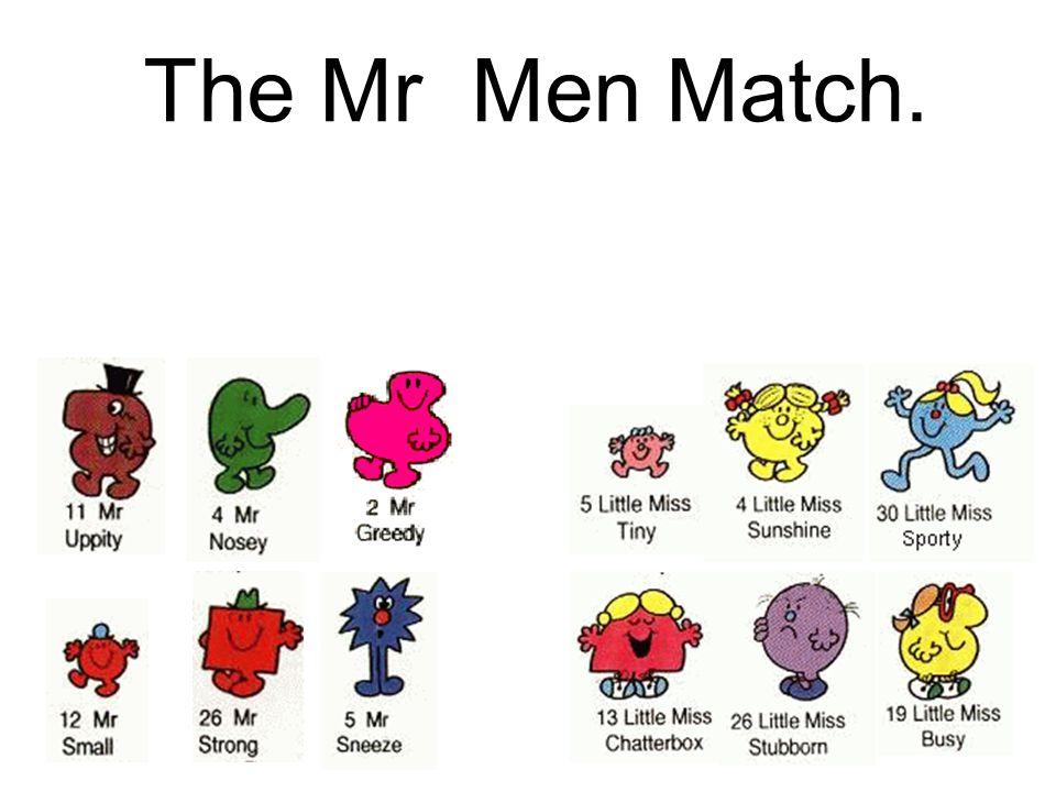 The Mr Men Match.