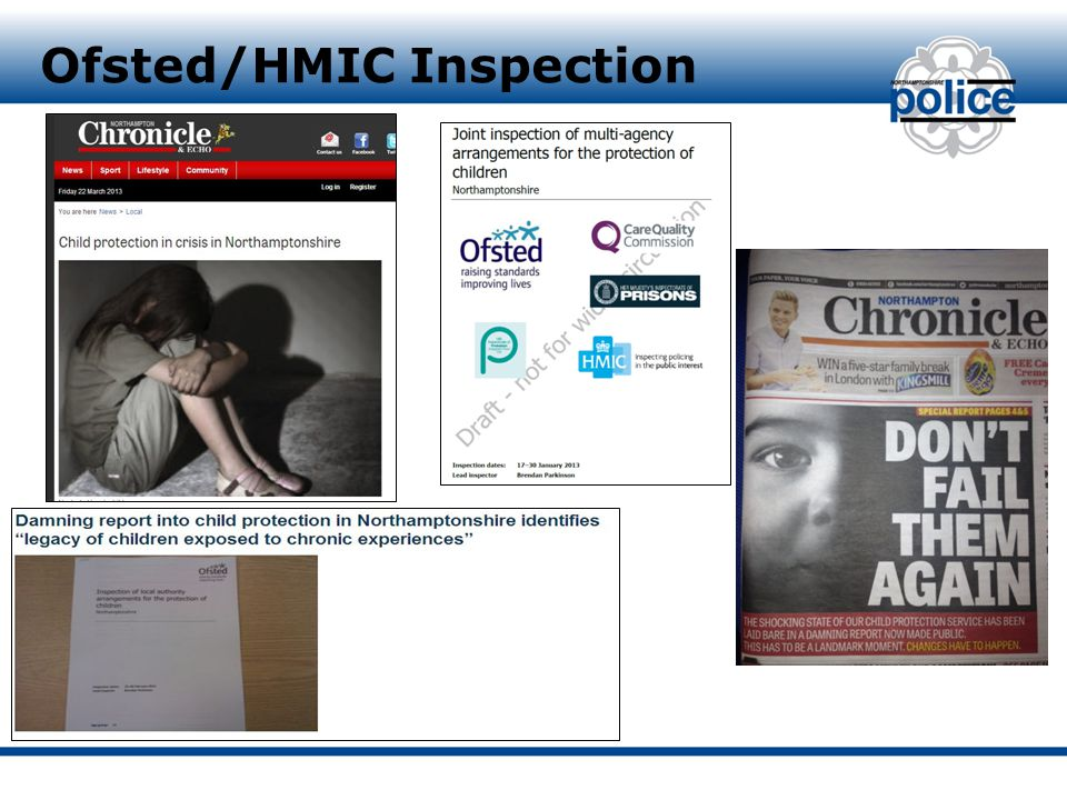 Ofsted/HMIC Inspection