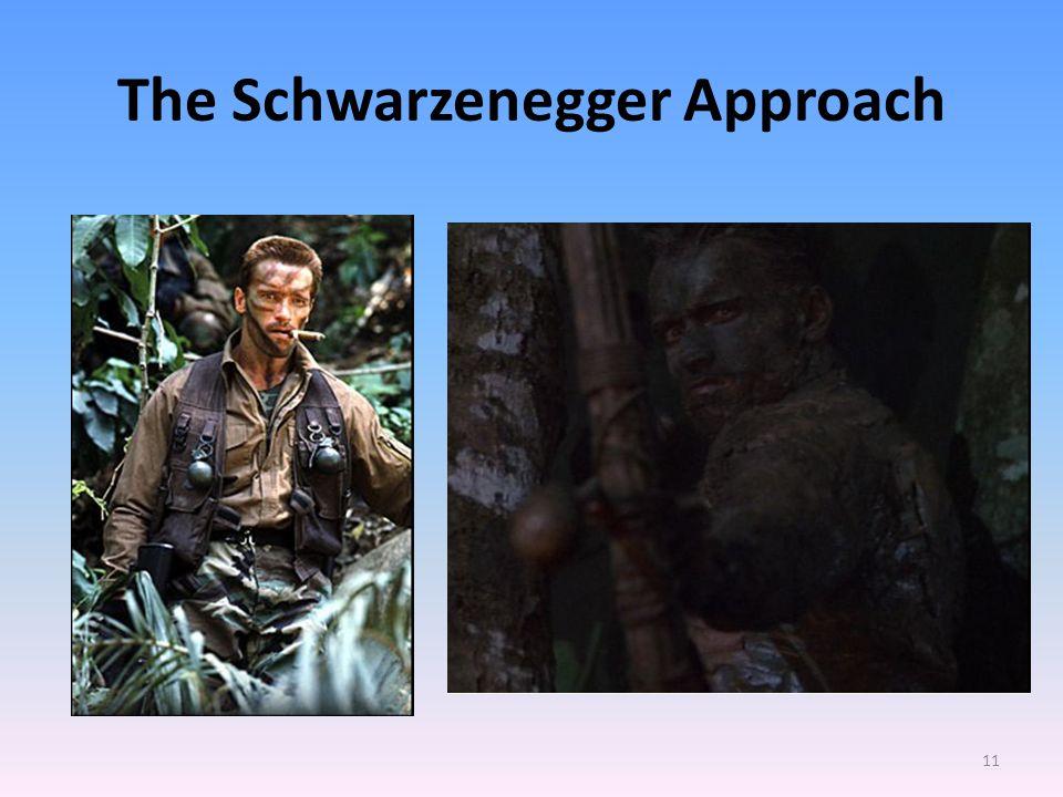The Schwarzenegger Approach 11
