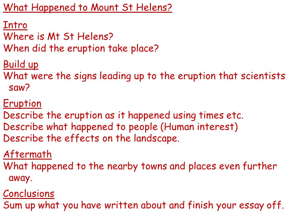 What Happened to Mount St Helens.Intro Where is Mt St Helens.