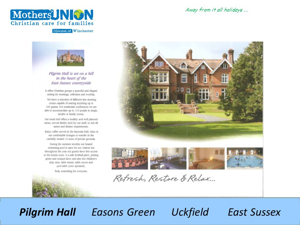 Pilgrim Hall Easons Green Uckfield East Sussex