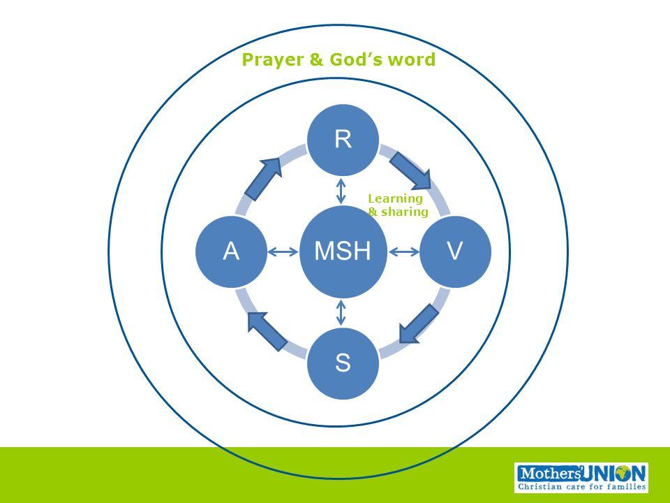 MSH RVSA Learning & sharing Prayer & God's word