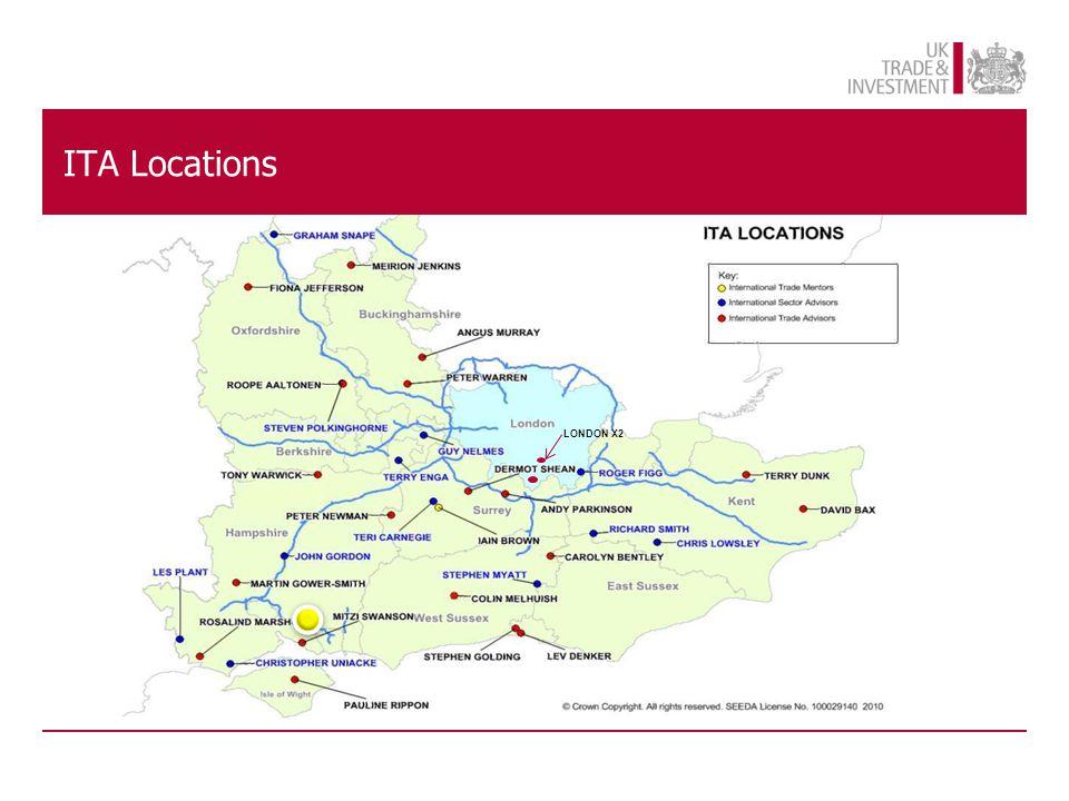 ITA Locations LONDON X2