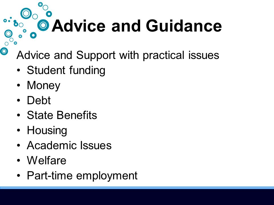 Financial Support Range of support to help in cases of unexpected hardship Financial Contingency Fund Trust Funds Charities Emergency Loans