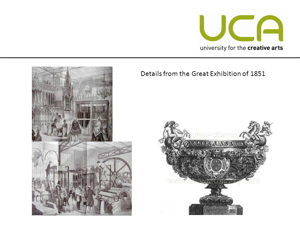 Details from the Great Exhibition of 1851