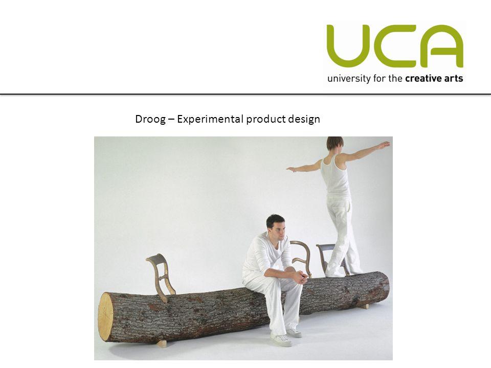 Droog – Experimental product design
