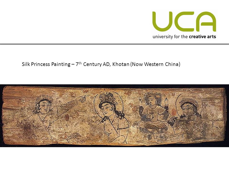 Silk Princess Painting – 7 th Century AD, Khotan (Now Western China)
